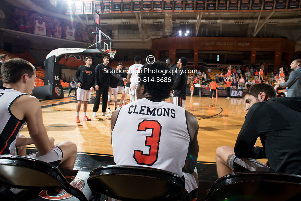 BUIES CREEK, NC - March 20th, 2017 - Campbell Camels and UT Martin CollegeInsider.com post-season tournament at Gilbert Craig Gore Arena in Buies Creek, NC. Photo By Bennett Scarborough