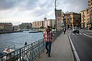 31 Gennaio 2016, Savona, Italia - Farid Kazemi, 33 anni.