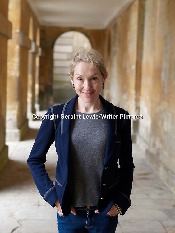 Justine Picardie, author with fashion interest