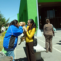 Toluca, Mex.-  Un grupo de personas representantes de agrupaciones protectoras de animales en el Estado de México, se manifestaron frente a las instalaciones de la Procuraduría General de Justicia del Estatal y presentaron un oficio donde apoyan y niegan que su compañero Javier Cervantes Landa almacene animales en su refrigerador. Agencia MVT / José Hernández. (DIGITAL)<br /> <br /> <br /> <br /> NO ARCHIVAR - NO ARCHIVE