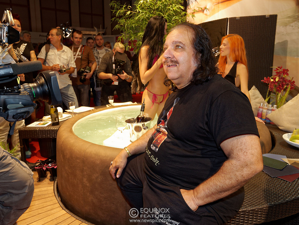 Berlin, Germany - 18 October 2012<br /> Porn star Ron Jeremy promoting his 'Ron Jeremy' brand of rum at the Venus Berlin 2012 adult industry exhibition in Berlin, Germany. Ron Jeremy, born Ronald Jeremy Hyatt, has been an American pornographic actor since 1979. He faces sexual assault allegations which he strenuously denies. There is no suggestion that any of the people in these pictures have made any such allegations.<br /> www.newspics.com/#!/contact<br /> (photo by: EQUINOXFEATURES.COM)<br /> Picture Data:<br /> Photographer: Equinox Features<br /> Copyright: &copy;2012 Equinox Licensing Ltd. +448700 780000<br /> Contact: Equinox Features<br /> Date Taken: 20121018<br /> Time Taken: 12321345