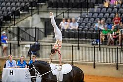 Derks Janika, GER, Carousso Hit, Lunger Lichtenberg Jessica<br /> World Equestrian Games - Tryon 2018<br /> © Hippo Foto - Stefan Lafrenz<br /> 18/09/18