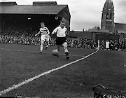 20/04/1958<br /> 04/20/1958<br /> 20 April 1958<br /> F.A.I. Cup Final: Shamrock Rovers v Dundalk at Dalymount Park, Dublin.