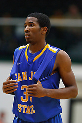 Nov 16, 2011; San Francisco CA, USA;  San Jose State Spartans guard James Kinney (33) before a free throw against the San Francisco Dons during the second half at War Memorial Gym.  San Francisco defeated San Jose State 83-81 in overtime. Mandatory Credit: Jason O. Watson-US PRESSWIRE