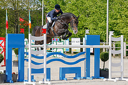 Muller Caroline (GER) - Ustinov<br /> CSI2* Roosendaal 2012<br /> © Hippo Foto - Leanjo de Koster