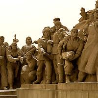 Mao Zedong mausoleum in Beijing, China.  Monday Jan. 21, 2008. Photos: Bernardo De Niz