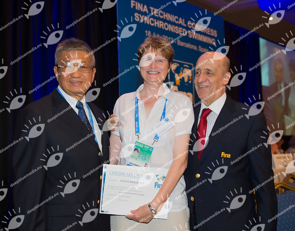 FINA Synhcronized swimming Technical Congress<br /> Hotel Fira Palace, Barcelona (Spain) 18/07/2013 <br /> FINA World Championships Barcelona 2013<br /> &copy; Giorgio Perottino / Deepbluemedia