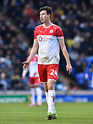 Aapo Halme (24) of Barnsley during the The FA Cup match between Portsmouth and Barnsley at Fratton Park, Portsmouth, England on 25 January 2020.