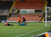 Bilel Mohsni of Dundee United scores his side's second goal - Dundee United v Dumbarton in the SPFL Championship at Tannadice, Dundee<br /> <br />  - &copy; David Young - www.davidyoungphoto.co.uk - email: davidyoungphoto@gmail.com