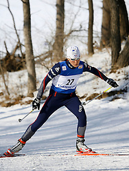 CHANGCHUN, CHINA - SUNDAY, FEBRUARY 25th, 2007: The France's PHILIPPOT KARINE in the women's 10km cross country skiing at the World Cup Cross Country Skiing. (Pic by Osports/Propaganda)