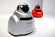 Nissan's biometric robot car BR23C is demonstrated in Japan. ..Photographer: Robert Gilhooly