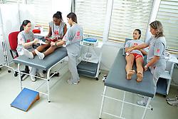 Sala de fisoterapia no ADC Bradesco Esporte e Educação, em Osasco. FOTO: Jefferson Bernardes/Preview.com
