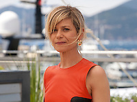Actress Marina Fois at the Pericle (Pericle Il Nero) film photo call at the 69th Cannes Film Festival Thursday 19th May 2016, Cannes, France. Photography: Doreen Kennedy