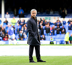 Chelsea Manager, Jose Mourinho  - Mandatory byline: Matt McNulty/JMP - 07966386802 - 12/09/2015 - FOOTBALL - Goodison Park -Everton,England - Everton v Chelsea - Barclays Premier League