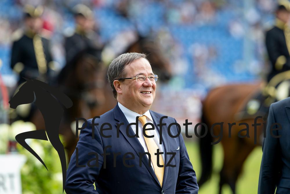 LASCHET Armin (Ministerpräsident NRW)<br /> Aachen - CHIO 2018<br /> Preis von Nordrhein-Westfalen<br /> 20. Juli 2018<br /> © www.sportfotos-lafrentz.de/Stefan Lafrentz