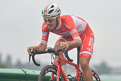 September 15, 2017 - Chenghu City, United States - Luca Pacioni from Androni Sidermec Bottecchia team during the fourth stage of the 2017 Tour of China 1, the 3.3 km Chenghu Jintang individual time trial. .On Friday, 15 September 2017, in Jintang County, Chenghu City,  Sichuan Province, China. (Credit Image: © Artur Widak/NurPhoto via ZUMA Press)