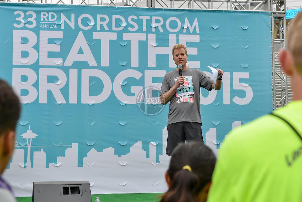 33rd Annual Nordstrom Beat the Bridge Run award winners honorary chair, Erik Nordstrom.