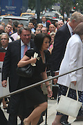 Katy Chung at the Walter Cronkite funeral at The St. Bartholomew Church on July 23, 2009 in New York City