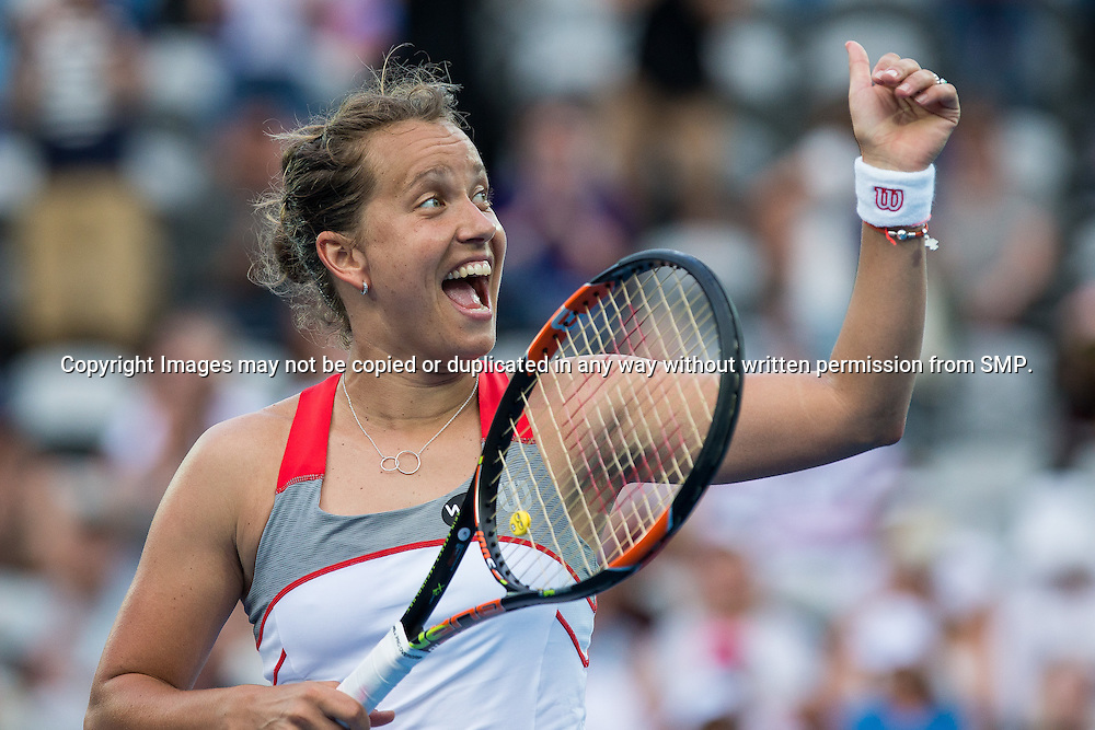 BARBORA ZAHLAVOVA STRYCOVA (CZE) during Day 3 of the 2015 Apia Sydney International played at Sydney Olympic Park Tennis Centre, Sydney, Australia, Tuesday, 13 Jan 2015. Photo: Murray Wilkinson (SMP Images).