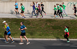 21km and 42km Run at Volkswagen 22nd Ljubljana Marathon 2017, on October 29, 2017 in Ljubljana, Slovenia. Photo by Vid Ponikvar / Sportida