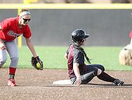 March 18, 2014: The Oklahoma Wesleyan University Eagles play against the Oklahoma Christian University Lady Eagles at Tom Heath Field at Lawson Plaza on the campus of Oklahoma Christian University.