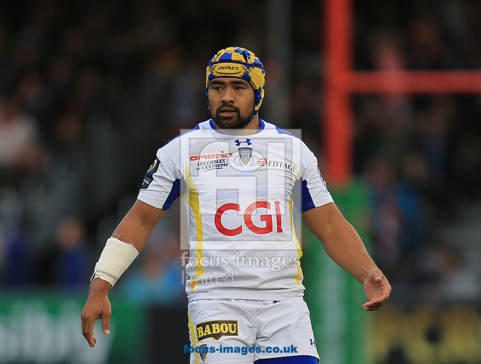 Fritz Lee of Clermont Auvergne during the European Rugby Champions Cup match at Allianz Park, London<br /> Picture by Michael Whitefoot/Focus Images Ltd 07969 898192<br /> 18/10/2014