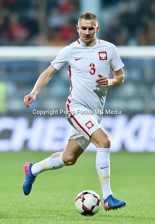 2017.03.26 Podgorica<br /> Pilka nozna kadra reprezentacja<br /> Eliminacje Mistrzostw Swiata Rosja 2018<br /> Czarnogora - Polska<br /> N/z Artur Jedrzejczyk<br /> Foto Lukasz Laskowski / PressFocus<br /> <br /> 2017.03.26 Podgorica<br /> Football <br /> FIFA 2018 World Cup Qualifying game between Montenegro and Poland<br /> Artur Jedrzejczyk<br /> Credit: Lukasz Laskowski / PressFocus