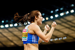 August 9, 2018 - Berlin, GERMANY - 180809 Ekaterini Stefanidi of Greece competes to win the women's pole vault final during the European Athletics Championships on August 9, 2018 in Berlin..Photo: Vegard Wivestad GrÂ¿tt / BILDBYRN / kod VG / 170199 (Credit Image: © Vegard Wivestad Gr¯Tt/Bildbyran via ZUMA Press)