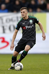 Yoell van Nieff of FC Groningen during the Dutch Eredivisie match between Willem II Tilburg and FC Groningen at Koning Willem II stadium on January 21, 2018 in Tilburg, The Netherlands