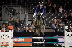 Fernandez Saro Manuel, ESP, Dodger Of The Lowlands<br /> Jumping Indoor Maastricht 2016<br /> © Hippo Foto - Dirk Caremans<br /> 12/11/2016