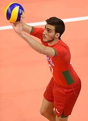 20150619 NED: World League Nederland - Portugal, Groningen<br /> De Nederlandse volleyballers hebben in de World League ook hun eerste duel met Portugal met 3-0 gewonnen / Miguel Tavares Rodrigues