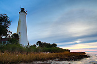 St. Marks Lighthouse on Florida's North Gulf Coast.