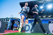 Crystal Palace #27 Damien Delaney during the warm up at EFL Cup match between Crystal Palace and Huddersfield Town at Selhurst Park, London, England on 19 September 2017. Photo by Sebastian Frej.