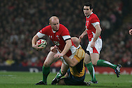 Invesco Perpetual series, Wales v Australia at the Millennium Stadium on Saturday 28th Nov 2009.  pic by Andrew Orchard, Andrew Orchard sports photography, .EDITORIAL USE ONLY