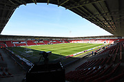 Doncaster Rovers Keepmoat stadium before  the EFL Sky Bet League 2 match between Doncaster Rovers and Plymouth Argyle at the Keepmoat Stadium, Doncaster, England on 26 March 2017. Photo by Ian Lyall.