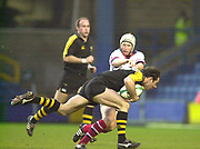 London. Great Britain  during the Heineken Cup.London Wasps v Ulster Match, played at Loftus Road, West London. 06/01/2002.  [Mandatory Credit;  Peter Spurrier/Intersport Images]..