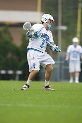 05 April 2008: North Carolina Tar Heels attackman Bart Wagner (1) during a 11-12 OT loss to the Virginia Cavaliers on Fetzer Field in Chapel Hill, NC.