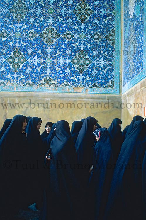 Iran. Ispahan. Mosque Sheikh Loftollah. Place de l'Imam. // Sheikh Loftollah mosque. Imam square. Esfahan. Iran