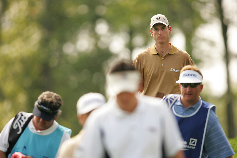Jim Furyk..2004 Deutsche Bank Championship.TPC of Boston.Norton, MA.Second Round.Saturday, September 6  2004..photograph by Darren Carroll