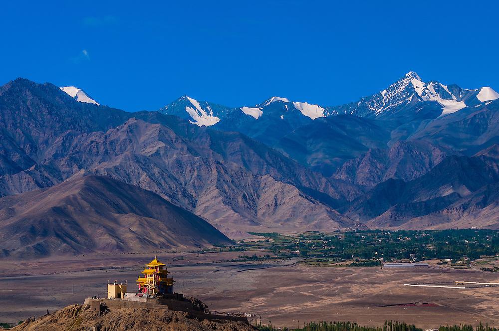 Zangdok Pelri Temple; Ladakh, Jammu and Kashmir State, India.