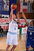DESCRIZIONE : Bormio Torneo Internazionale Femminile Olga De Marzi Gola Italia Grecia <br /> GIOCATORE : Kathrin Ress <br /> SQUADRA : Nazionale Italia Donne Italy <br /> EVENTO : Torneo Internazionale Femminile Olga De Marzi Gola <br /> GARA : Italia Grecia Italy Greece <br /> DATA : 24/07/2008 <br /> CATEGORIA : Tiro <br /> SPORT : Pallacanestro <br /> AUTORE : Agenzia Ciamillo-Castoria/S.Silvestri <br /> Galleria : Fip Nazionali 2008 <br /> Fotonotizia : Bormio Torneo Internazionale Femminile Olga De Marzi Gola Italia Grecia <br /> Predefinita :