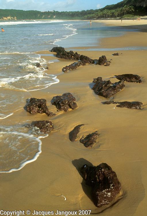 Brazil, Rio Grande do Norte, Atlantic Coast, Golfinhos Beach at Tibau do Sul.