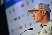 Jimmy Spithill of Oracle Team USA during the 35th America's Cup 2017 Press Conference on June 24, 2017 in Hamilton, Bermuda - Photo Christophe Favreau / ProSportsImages / DPPI