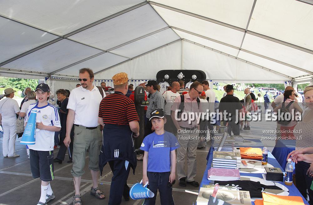 Suomi - Belgia, EM-karsinta. Olympiastadio, Helsinki 6.6.2007. Photo: Jussi Eskola
