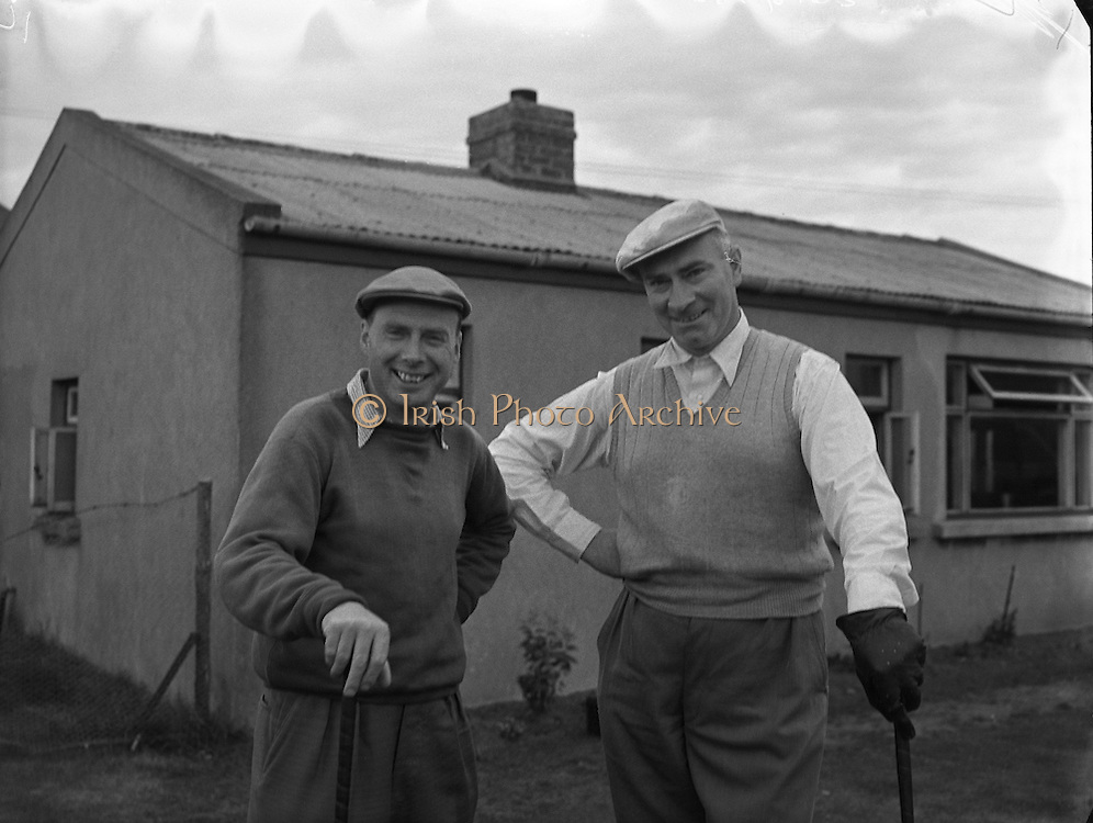 Golf - Irish Amateur Open Championships at Royal Dublin, Dollymount.01/09/1954