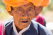 Pa O tribe Elder at festival in Kyaunk Da Lole Township, Taunggyi