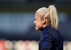 NEWPORT, WALES - Thursday, August 30, 2018: England's Steph Houghton during a training session at Rodney Parade ahead of the final FIFA Women's World Cup 2019 Qualifying Round Group 1 match between Wales and England. (Pic by David Rawcliffe/Propaganda)