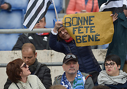 March 16, 2019 - Rome, Italy - Francia supporters during RBS Six Nations Rugby Championship, Italia v Francia at the Olympic Stadium in Rome, on march 16, 2019  (Credit Image: © Silvia Lore/NurPhoto via ZUMA Press)