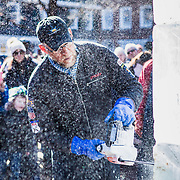 Palmer Square sponsored a new event called Palmer Square On Ice in February of 2017. Produced by Marketing Director, Anita Fresolone, the event featured a variety of ice sculptures, an ice bar serving free hot chocolate and several live ice sculpting demonstrations. The successful event drew a crowd hundreds people.