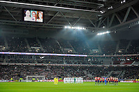 Hommage aux sportifs decedes / Florence Arthaud / Camille Muffat / Alexis Vastine - 15.03.2015 - Lille / Rennes - 29e journee Ligue 1<br /> Photo : Andre Ferreira / Icon Sport
